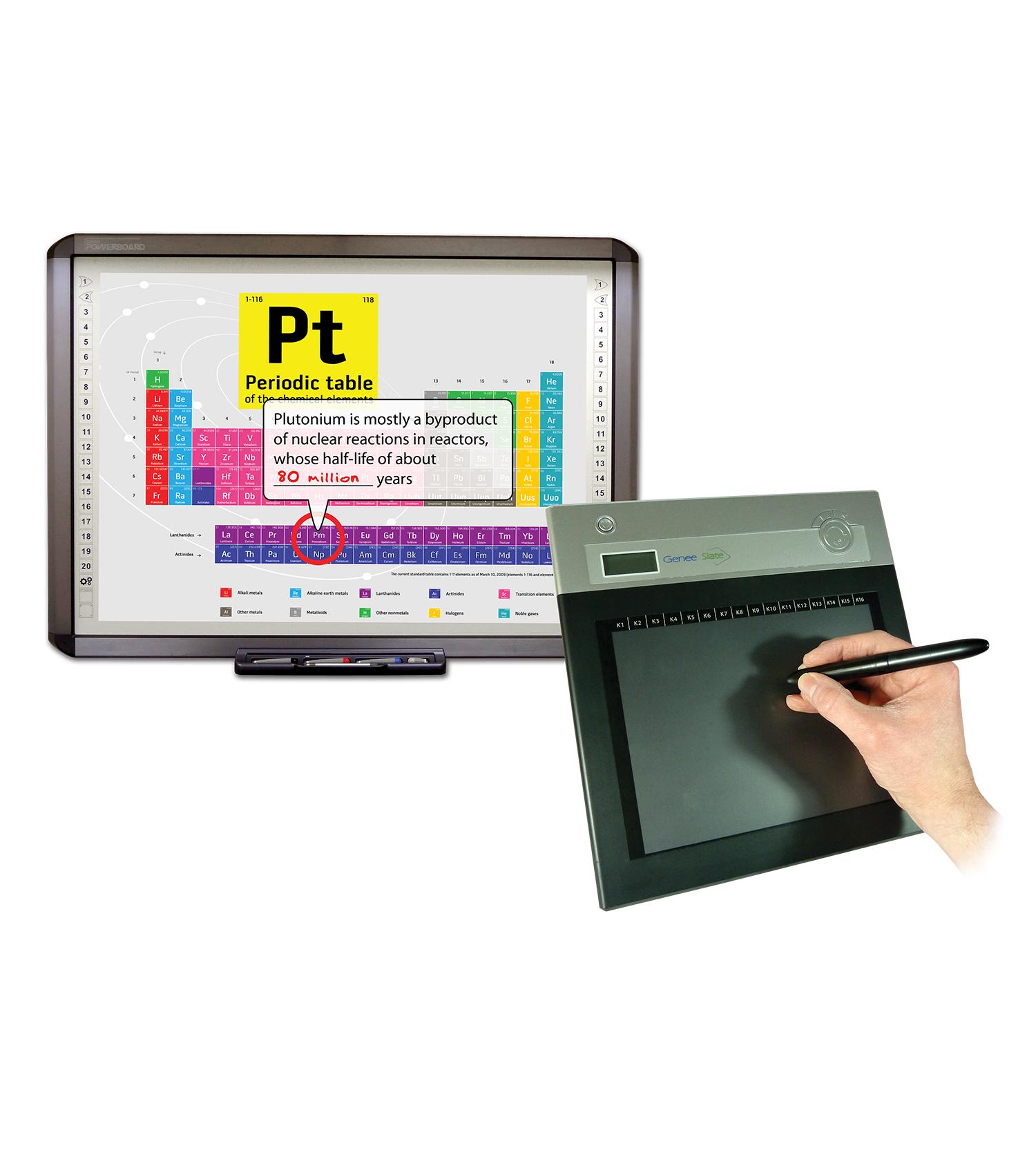 Genee Slate Wireless Graphic Tablet Genee World North