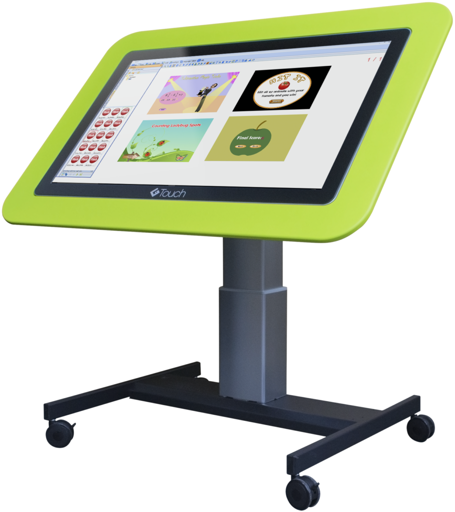 Junior Tilt and Touch Table Hi-Lo – Interactive Table ...