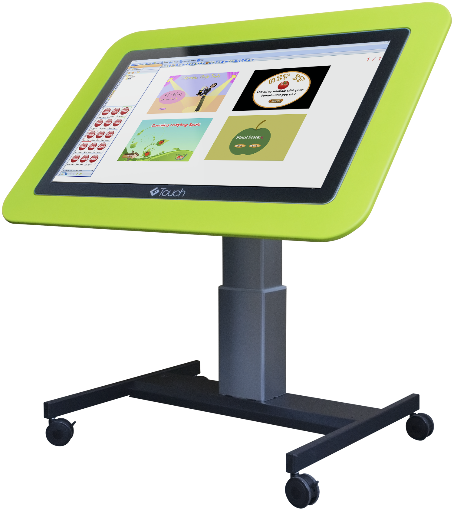 Junior Tilt And Touch Table Hi Lo Interactive Table